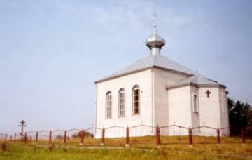Die neue russisch-orthodoxe Kirche in Dory.